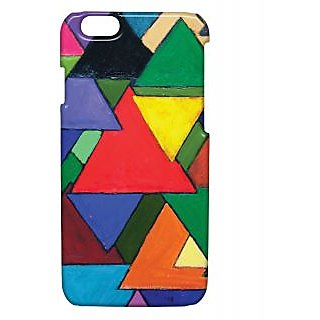 Pickpattern Back Cover For Apple Iphone 6 TRIANGLEPAINTINGSI6-3316