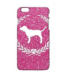 Pickpattern Back Cover For Apple Iphone 6 Plus WHITEDOGI6PLUS-3912