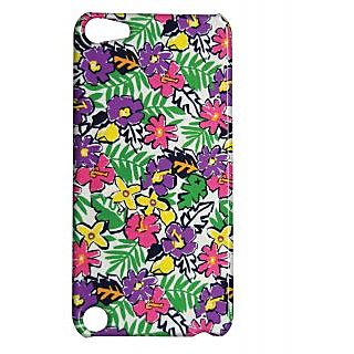 Pickpattern Back Cover For Apple Ipod Touch 5 DARKWINEIT5-5718