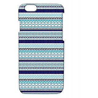 Pickpattern Back Cover For Apple Iphone 6 NAVYBLUEI6-3015