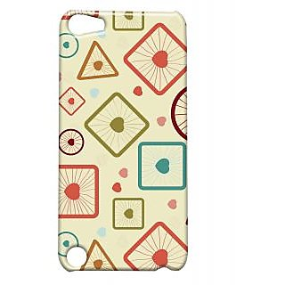 Pickpattern Back Cover For Apple Ipod Touch 5 ROUND&SQUAREIT5-5623
