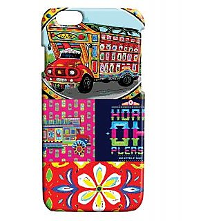 Pickpattern Back Cover For Apple Iphone 6 TRUCKARTI6-3354