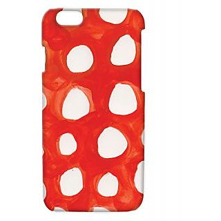 Pickpattern Back Cover For Apple Iphone 6 WHITEHOLESI6-3419