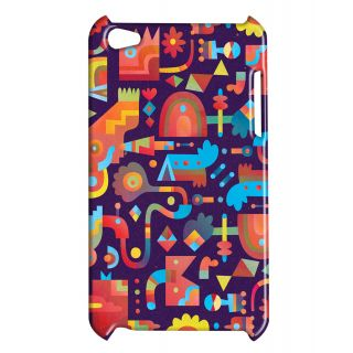 Pickpattern Back Cover For Apple Ipod Touch 4 DINODINOIT4-4898