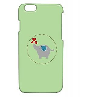 Pickpattern Back Cover For Apple Iphone 6 ELEPHANTHEARTSI6-3231