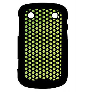 Pickpattern Back Cover For Blackberry Bold 9900 GREENBALLS9900-5944