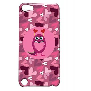 Pickpattern Back Cover For Apple Ipod Touch 5 MONSTERLOVEIT5-5592
