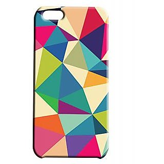 Pickpattern Back Cover For Apple Iphone 5C MULTITRIANGLEI5C-2071