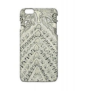 Pickpattern Back Cover For Apple Iphone 6 Plus WHITETRIANGLEI6PLUS-3914