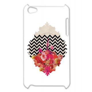 Pickpattern Back Cover For Apple Ipod Touch 4 FLOWERCLOCKIT4-4372