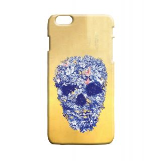 Pickpattern Back Cover For Apple Iphone 6 Plus FLOWERYSKULLI6PLUS-4187