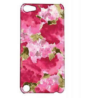 Pickpattern Back Cover For Apple Ipod Touch 5 PINKMOGRAIT5-5732