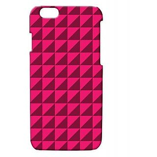Pickpattern Back Cover For Apple Iphone 6 PINKSHADYVECTORI6-3409