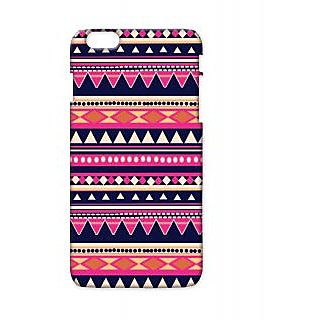 Pickpattern Back Cover For Apple Iphone 6 Plus PINKTRIANGLEI6PLUS-3808