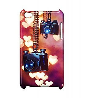 Pickpattern Back Cover For Apple Ipod Touch 4 CAMERAIT4-4812