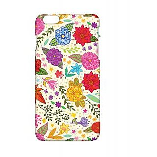 Pickpattern Back Cover For Apple Iphone 6 Plus FLOWERSHEETI6PLUS-4083