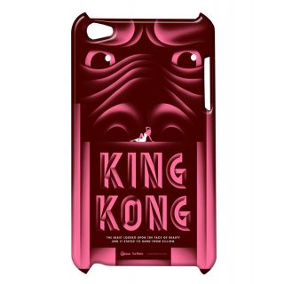 Pickpattern Back Cover For Apple Ipod Touch 4 HELLOKINGKONGIT4-5026