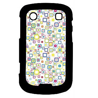 Pickpattern Back Cover For Blackberry Bold 9900 MANYBOXES9900-5975