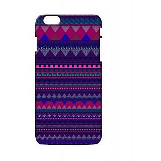 Pickpattern Back Cover For Apple Iphone 6 Plus NAVYAZTECI6PLUS-3768