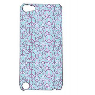 Pickpattern Back Cover For Apple Ipod Touch 5 PURPLEPIECEIT5-5698