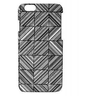 Pickpattern Back Cover For Apple Iphone 6 TEXTUREI6-3126
