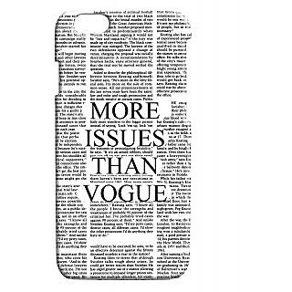 Pickpattern Back Cover For Apple Iphone 6 VOGUEI6-3271