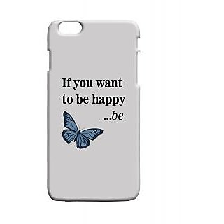 Pickpattern Back Cover For Apple Iphone 6 Plus BEHAPPYI6PLUS-3562