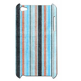 Pickpattern Back Cover For Apple Ipod Touch 4 BLUISHWALLIT4-4782