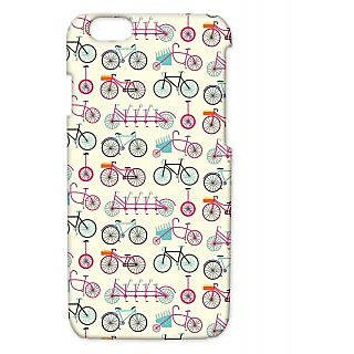 Pickpattern Back Cover For Apple Iphone 6 COLORFULCYCLESI6-3398