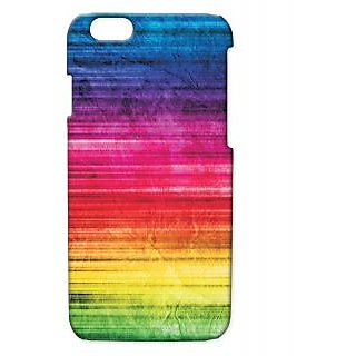 Pickpattern Back Cover For Apple Iphone 6 COLORFULLACEI6-2859