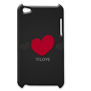 Pickpattern Back Cover For Apple Ipod Touch 4 LOVEREDIT4-5114