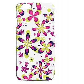 Pickpattern Back Cover For Apple Iphone 6 NATUREBLOSSOMI6-3441