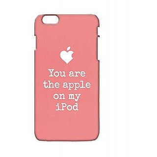 Pickpattern Back Cover For Apple Iphone 6 Plus PINKIPODI6PLUS-3798