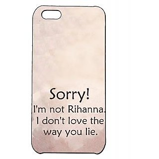 Pickpattern Back Cover For Apple Iphone 5C RIHANNAI5C-2217