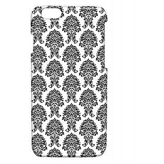 Pickpattern Back Cover For Apple Iphone 6 SIMPLEBLACKI6-3343
