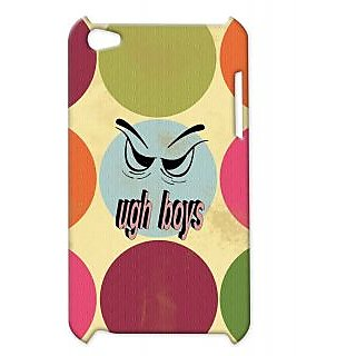 Pickpattern Back Cover For Apple Ipod Touch 4 UGHBOYSIT4-4359