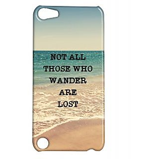 Pickpattern Back Cover For Apple Ipod Touch 5 WANDERIT5-5554