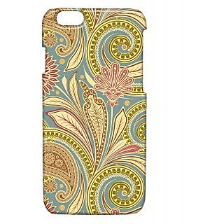 Pickpattern Back Cover For Apple Iphone 6 WAVYPATTERNI6-3317