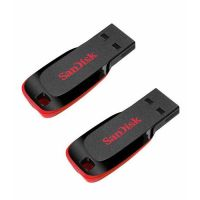 Combo Of Sandisk Cruzer Blade 8GB + 16GB Pendrive