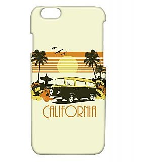Pickpattern Back Cover For Apple Iphone 6 CALIFORNIAI6-3199