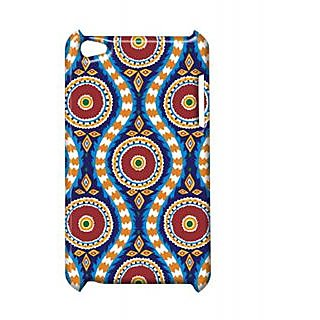 Pickpattern Back Cover For Apple Ipod Touch 4 CIRCULARBANGLESIT4-4833