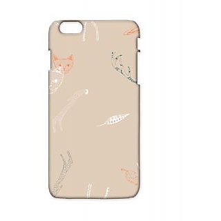 Pickpattern Back Cover For Apple Iphone 6 Plus LIGHTMEOWI6PLUS-3729