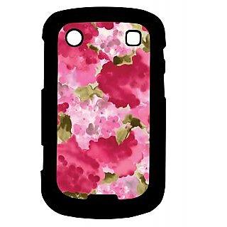 Pickpattern Back Cover For Blackberry Bold 9900 PINKMOGRA9900-5898