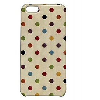 Pickpattern Back Cover For Apple Iphone 5C POLKASI5C-2585