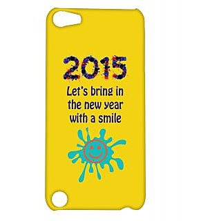 Pickpattern Back Cover For Apple Ipod Touch 5 SMILINGYEARIT5-5656