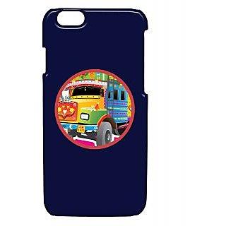 Pickpattern Back Cover For Apple Iphone 6 TRUCKHEADLIGHTSI6-3358