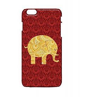 Pickpattern Back Cover For Apple Iphone 6 Plus ELEPHANTPAISLEYI6PLUS-3986