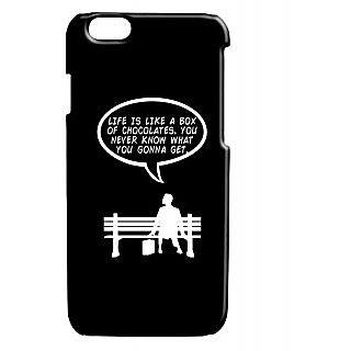 Pickpattern Back Cover For Apple Iphone 6 FORRESTGUMPI6-2921