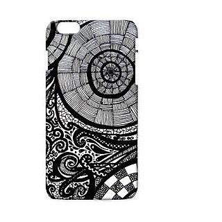 Pickpattern Back Cover For Apple Iphone 6 Plus PAINTINGOFFLOWERI6PLUS-3783
