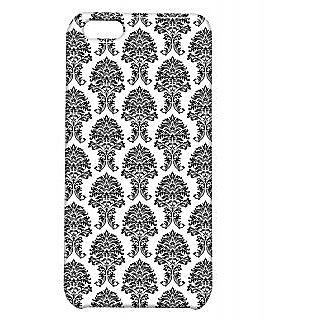 Pickpattern Back Cover For Apple Iphone 5C SIMPLEBLACKI5C-2590